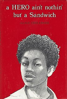 <i>A Hero Aint Nothin but a Sandwich</i> 1973 young adult novel