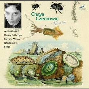Afatsim - Image: Afatsim (album) — Chaya Czernowin