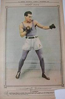 Al Foreman English/Canadian boxer