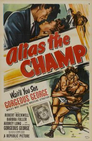 Alias the Champ - Theatrical release poster