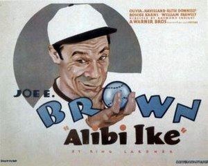 Alibi Ike - Image: Alibi Ike Film Poster