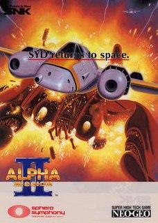 <i>Alpha Mission II</i> 1991 video game
