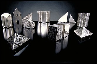 Kevin O'Dwyer (silversmith) - Image: Architectural salt and peppers lo res