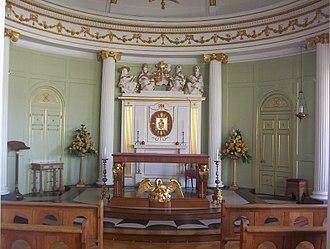 Bar Convent - The central altar at the Bar Convent Chapel