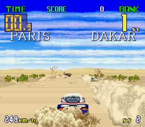 Big Run (video game) - Screenshot of Big Run