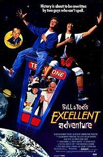<i>Bill & Teds Excellent Adventure</i> 1989 film
