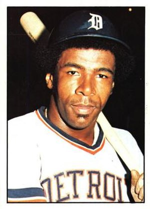 Billy Baldwin (baseball) - Image: Billy Baldwin baseball player Tigers 1976