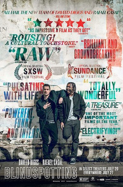 Picture of a movie: Blindspotting