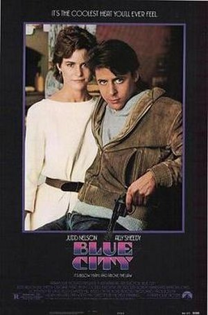 Blue City (film) - Theatrical release poster