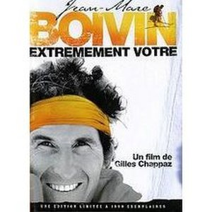 Jean-Marc Boivin - Boivin, with trademark headband, on the cover of Jean-Marc Boivin: Extrêmement vôtre DVD