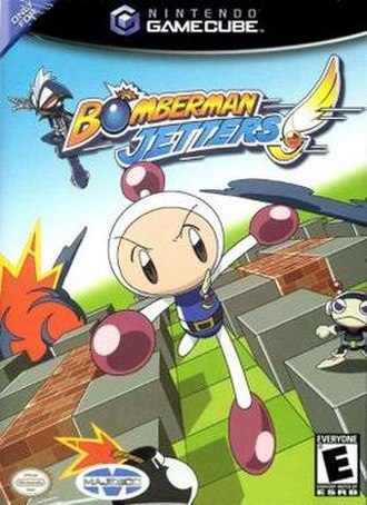 Bomberman Jetters (video game) - North American cover art