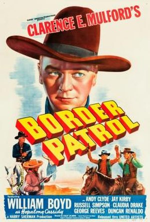 Border Patrol (film) - Theatrical release poster
