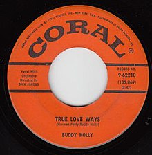 Buddy Holly True Love Ways 45 Coral.jpg