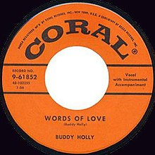 Words of Love Wikipedia