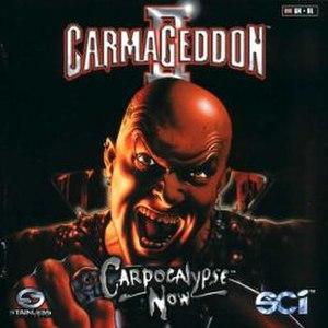 Carmageddon II: Carpocalypse Now - European cover art