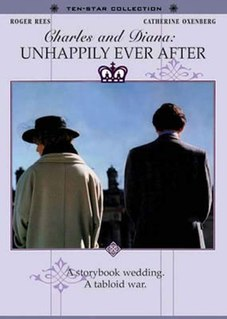 <i>Charles and Diana: Unhappily Ever After</i> 1992 US-Canadian film made in England directed by John Power