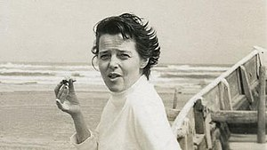 Charlotte Perriand - Charlotte Perriand in Japan, 1954.