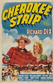 <i>Cherokee Strip</i> (film) 1940 film by Lesley Selander