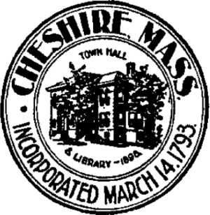 Cheshire, Massachusetts - Image: Cheshire Ma seal