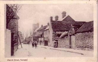 Navenby - Church Street – now renamed Church Lane – in 1907