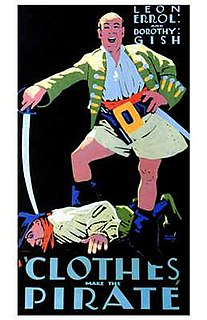 <i>Clothes Make the Pirate</i> 1925 film by Maurice Tourneur