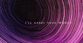 Atlas (Coldplay song) - The lyric video makes numerous allusions to space phenomena, such as star trails (pictured) and mythological constellations.