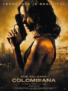 <i>Colombiana</i> 2011 film by Olivier Megaton