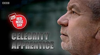 Comic Relief Does The Apprentice - Image: Com appren logo