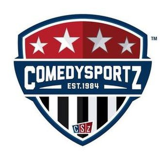 ComedySportz - Official logo of ComedySportz