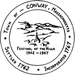 Conway, Massachusetts - Image: Conway MA Seal