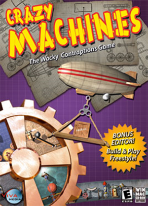 Crazy Machines - Image: Crazy Machines Coverart