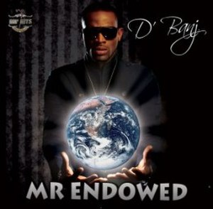 Mr Endowed - Image: D'banj's Mr Endowed's Cover art