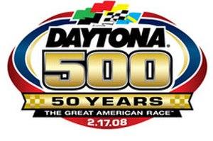 2008 Daytona 500 - Image: Daytona 50050th edited