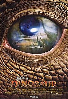 <i>Dinosaur</i> (film) 2000 animated film by Eric Leighton and Ralph Zondag
