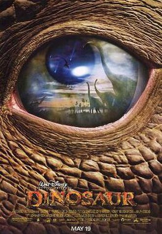 Dinosaur (film) - Theatrical release poster
