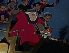 The Coachman in Pinocchio