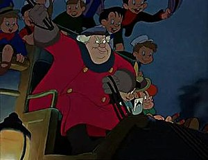 The Coachman - The Coachman, as portrayed in the 1940 Walt Disney film Pinocchio