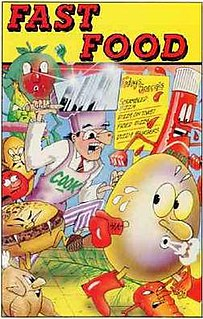 <i>Fast Food</i> (1989 video game) 1987 Codemasters video game for personal computers