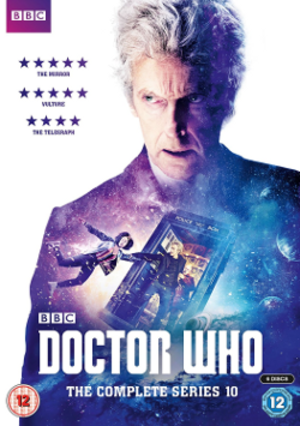 Doctor Who (series 10) - DVD box set cover art