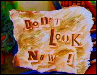 Don't Look Now (1983 TV series) - Scene from the opening