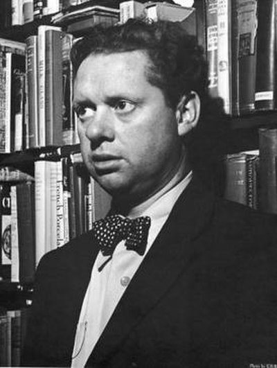 Picture of an author: Dylan Thomas