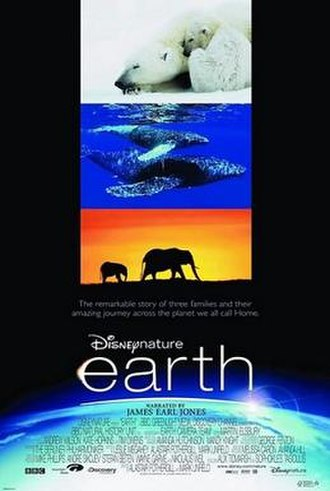 Earth (2007 film) - North American release poster