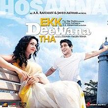Ekk Deewana Tha (soundtrack) - Wikipedia