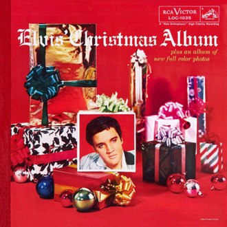 Elvis' Christmas Album - Image: Elvis'christmasalbum