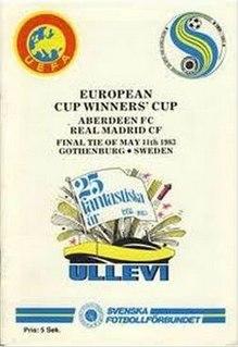 1983 European Cup Winners Cup Final