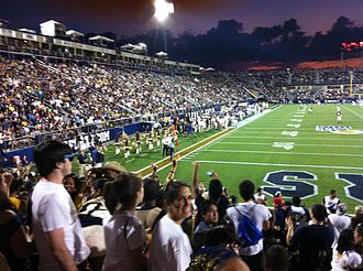 FIU Panthers football - Riccardo Silva Stadium during the 2011 Homecoming game versus Duke University