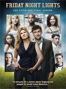 Friday Night Lights (season 5). FNL S5 DVD Amazing Design
