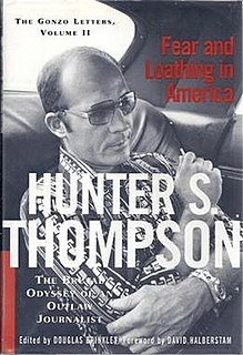 book by Hunter S. Thompson