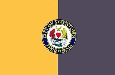 Flag of Allentown, Pennsylvania