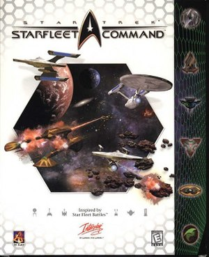 Star Trek: Starfleet Command - Cover art